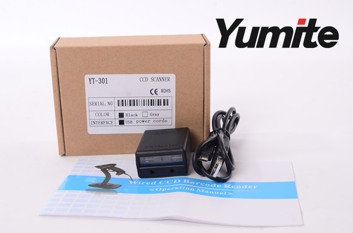micro usb wired ccd barcode scaner moudle scan engine YT-M301