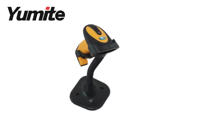 YT-1101A Wired Auto Sense Laser Barcode Scanner with Stand