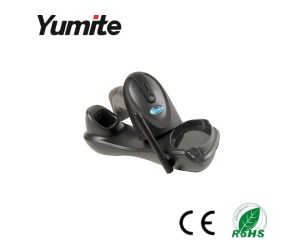 433MHZ long distance wireless barcode scanner with charging station YT-900