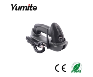 Yumite barcode scanner 433MHZ wireless CCD barcode scanner with charging base YT-1501