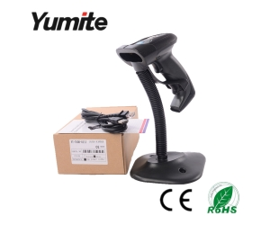 Auto-sense Laser Barcode Reader with Optional Stand YT-760B