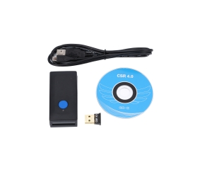 Neues Design bluetooth CCD Barcode-Scanner-Unterstützung IOS / MAC / Android YT-1401MA