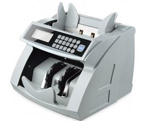 Vertical Digital Money Counter EURO US DOLLAR Bill Cash Counting Machine