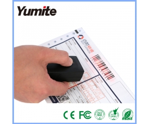 Wireless Pocket CCD Scanner, Bluetooth Barcode Scanner, Mini Bluetooth Barcode Reader YT-1402-MA
