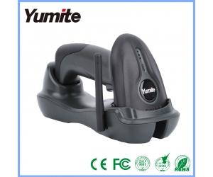 Yumite 433MHZ Long Range Wireless Charge Station CCD Barcode scanner  YT-1503