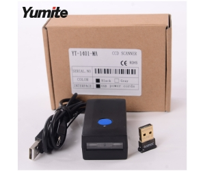 Yumite New Bluetooth Technology Bar Code Reader Support IOS/MAC/Android/Windows YT-1401-MA