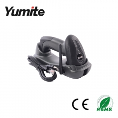 China Yumite barcode scanner 433MHZ wireless CCD barcode scanner with charging base YT-1501 factory