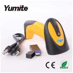 China 433MHZ wireless CCD barcode scanner YT-1301 factory