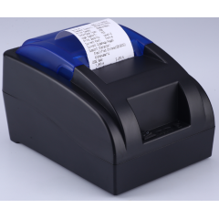 China 58mm Desktop Bluetooth Thermal Receipt Printer,58mm desktop pos thermal receipt printer,58mm black Direct Thermal USB port thermal printer factory
