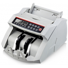 China Bill Money Counter Worldwide Currency Cash Counting Machine UV & MG Counterfeit factory