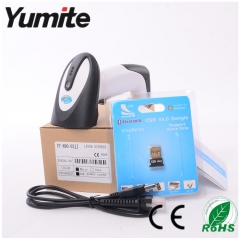 China Bluetooth laser barcode scanner supplier Support iOS, Android, Win7, Win8 YT-890 factory
