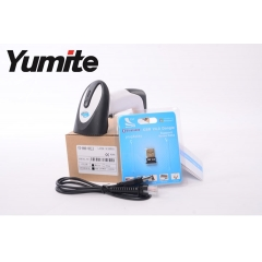 China China barcode laser portable bluetooth barcode scanner with memory YT-890 factory