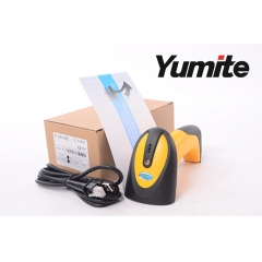 China Hot sale USB Wired CCD Handheld Barcode Reader YT-1001 factory
