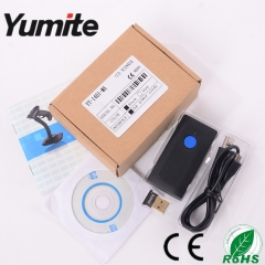 China Mini Bluetooth wireless CCD barcode scanner YT-1401-MA factory