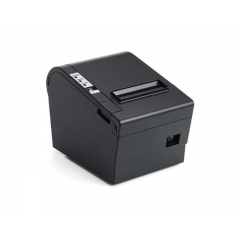 China USB+Ethernet pos thermal Receipt Printer USB/Ethernet Black Receipt Printer factory