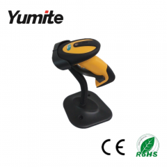 China Wired Semi-Automatic Induction CCD Barcode Reader with holder YT-1101B factory
