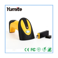 China Drahtloser 433 MHz-Barcode-Scanner mit USB-Dongle-Fabrik