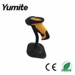 China Yumite wired auto-sense ccd barcode scanner with stand YT-1101A factory