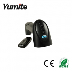 China Applied in supermarket/bookstore 2.4G wireless laser barcode scanner YT-860 factory