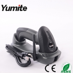 China cordless 433Mhz CCD with charge base barcode scanner with competitive price YT-1501 factory