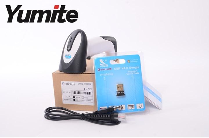 Bluetooth 1d Handheld Laser Barcode Scanner Yt 890 Bar